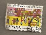 Stamps Spain -  Año internacional del niño