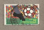 Stamps Mexico -  Campeonato Mundial Fútbol