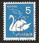 Sellos de Asia - Japón -  Un Cisne