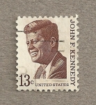 Sellos del Mundo : America : Estados_Unidos :  PresidenteJohn F. Kennedy