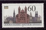 Stamps : Europe : Germany :  Catedral de Speyer