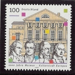 Stamps : Europe : Germany :  Weimar clásico
