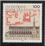 Stamps : Europe : Germany :  Monasterio de Maulbronn