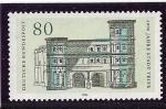 Stamps : Europe : Germany :  Puerta negrita de Trier