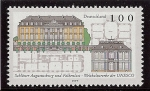 Stamps : Europe : Germany :  Castillo de Augustusburg y Falkenlust