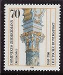 Stamps : Europe : Germany :  Iglesia de peregrinación de Wies