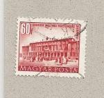 Sellos de Europa - Hungría -  Centro Cultural Matías Rakosi