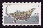 Stamps : Europe : Germany :  Sitio fosilífero de Messel