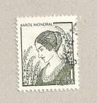 Sellos de Europa - Polonia -  Karol Mondral