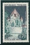 Stamps : Europe : France :  Provisn,ciudad medieval