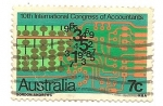 Stamps Australia -  Counting Congress