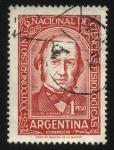 Sellos de America - Argentina -  XXI Congreso Internacional de Ciencias Fisiológicas. Claude Bernard, 1813 – 1878. Biólogo, médico y