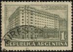 Sellos de America - Argentina -  Edificio de la Caja Nacional de Ahorro Postal en Buenos Aires.