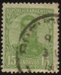 Stamps Argentina -  Libertador General San Martín.