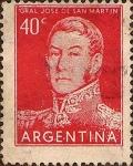 Sellos de America - Argentina -  Gral. Jos� de San Mart�n