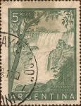 Stamps America - Argentina -  Cataratas del Iguazú.