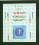 Stamps : America : Argentina :  Sello autoadhesivo