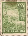 Stamps of the world : Argentina :  Caza Mayor en los Lagos del Sur.