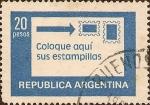 Sellos de America - Argentina -  Coloque aquí sus Estampillas.