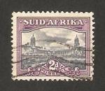 Sellos de Africa - Sudáfrica -  edificio de la union en pretoria