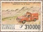 Stamps Peru -  Pro Navidad del Trabajador Postal y Pro Comedores Infantiles.