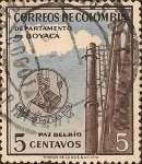 Stamps of the world : Colombia :  Departamento de Boyacá - Acerías Paz del Río.