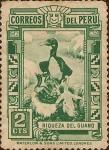 Stamps America - Peru -  Riqueza del Guano.