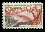 Sellos de Europa - Francia -  Presa hidroeléctrica