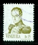 Sellos del Mundo : America : Venezuela : Simón Bolivar