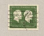Stamps Germany -  Paul Ehr y Emil Behring