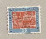 Sellos de Europa - Alemania -  1000 aniv. de Buxtehude