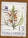 Sellos de America - Cuba -  Flores