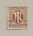 Stamps Germany -  Letra M