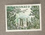 Sellos de Europa - Mónaco -  Castillo monegasco