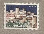 Stamps Monaco -  Castillo iluminado
