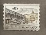Sellos de Europa - Mónaco -  Escalinatas castillo
