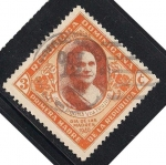 Stamps America - Dominican Republic -  JULIA MOLINA TRUJILLO.