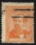 Stamps America - Argentina -  Nicolás Avellaneda. 1837 - 1885. Abogado, periodista y político argentino. Presidente de Argentina d