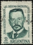 sellos de America - Argentina -  Juan Vucetich. Creador del sistema dactiloscópico de la Argentina.
