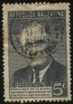 Sellos de America - Argentina -  Homenaje al Presidente Franklin Delano Roosevelt a 1 año de su fallecimiento.