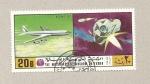 Stamps Yemen -  Boeing 707