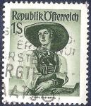 Sellos de Europa - Austria -  Mujer