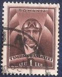 Stamps Romania -  Piloto