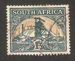 Sellos del Mundo : Africa : Sudáfrica : mina de oro
