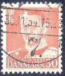 Stamps Denmark -  Rey