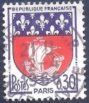 Sellos de Europa - Francia -  Escudo de París