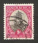 Sellos de Africa - Sudáfrica -  barco de van riebeeck