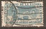 Sellos de America - México -  VIRREY  ENRIQUEZ   DE  ALMANZA,  TORRE  Y  CARRUAJE