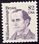 Stamps United States -  William Jennings