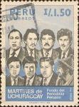 Sellos de America - Perú -  Fondo del Periodista Peruano. Mártires de Uchuraccay.